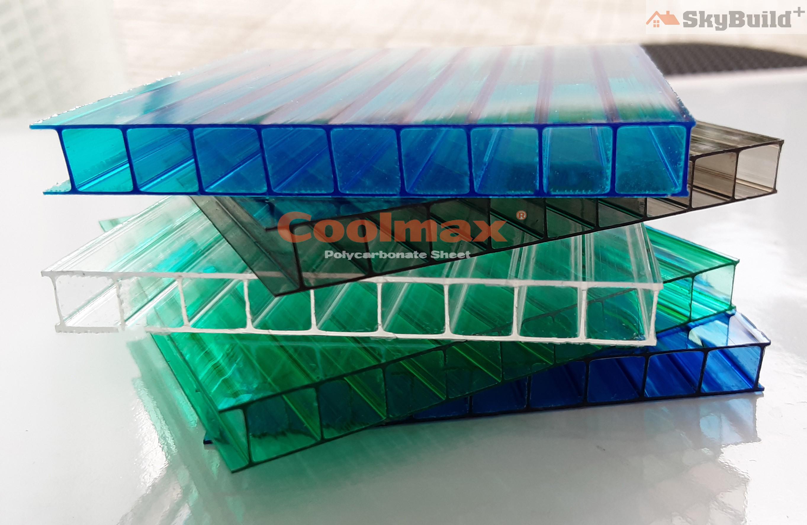 Tấm nhựa Polycarbonate lấy sáng có khả năng chịu lực cực lớn