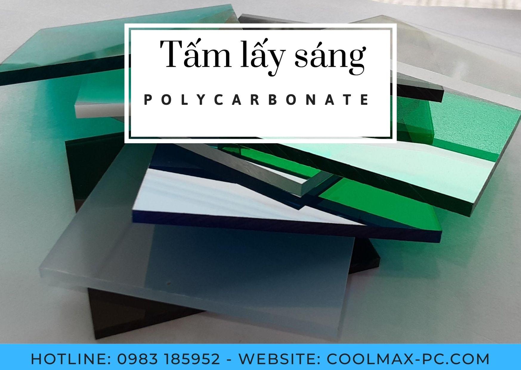 Tổng hợp ứng dụng phổ biến nhất của Polycarbonate