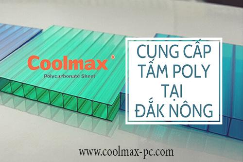 Cung cấp tấm poly tại Đắk Nông