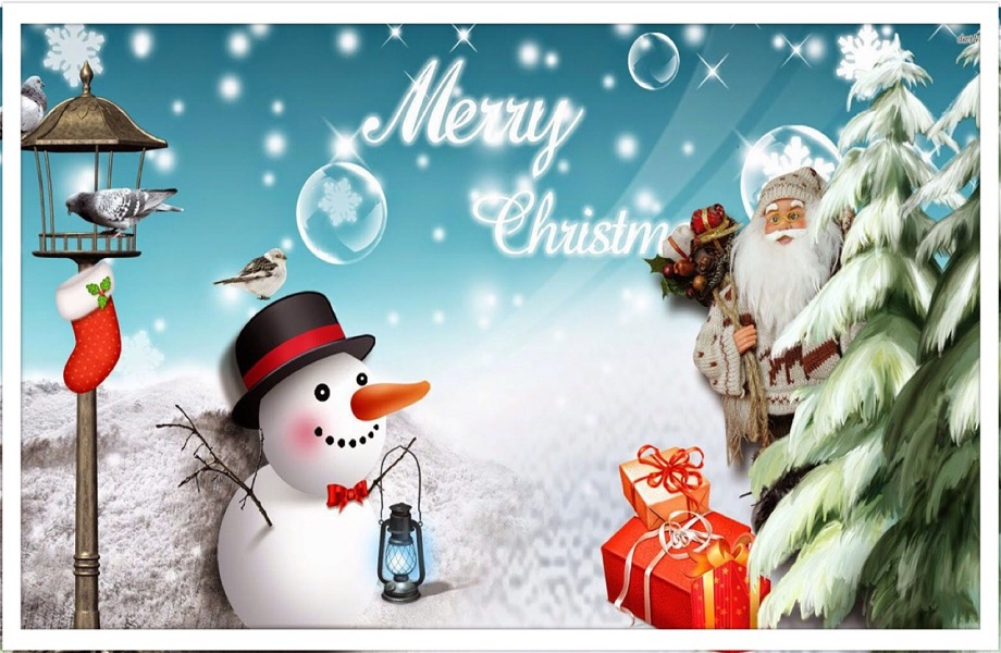 MERRY CHRISTMAS AND A HAPPY NEW YEAR 2021