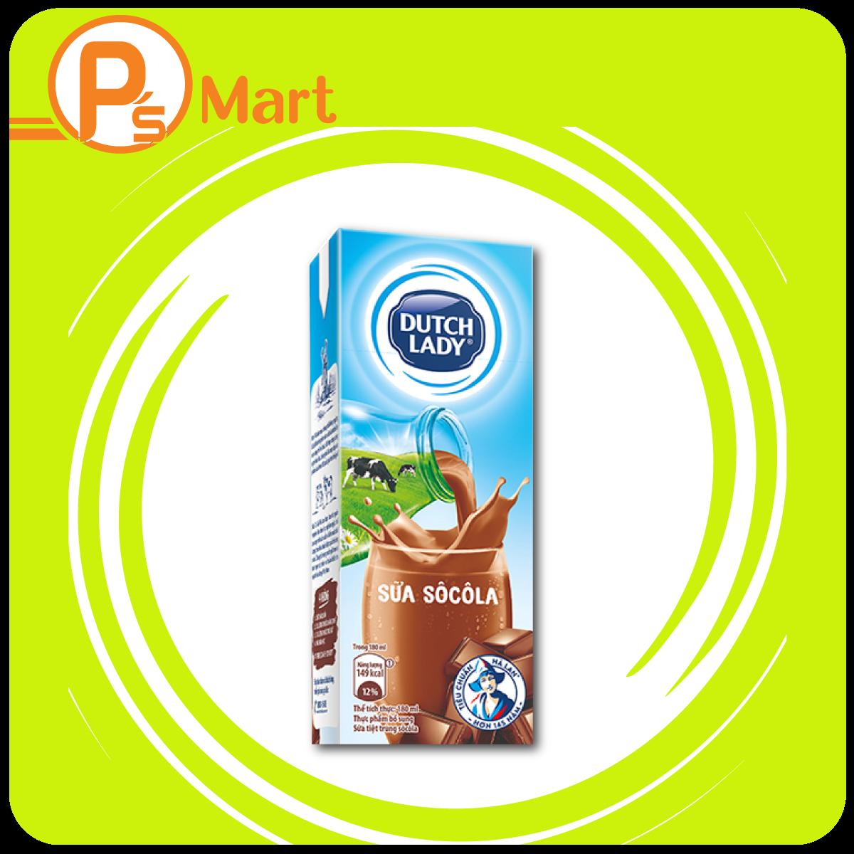 Sữa tươi Socola Dung tích: 180ml, 100ml