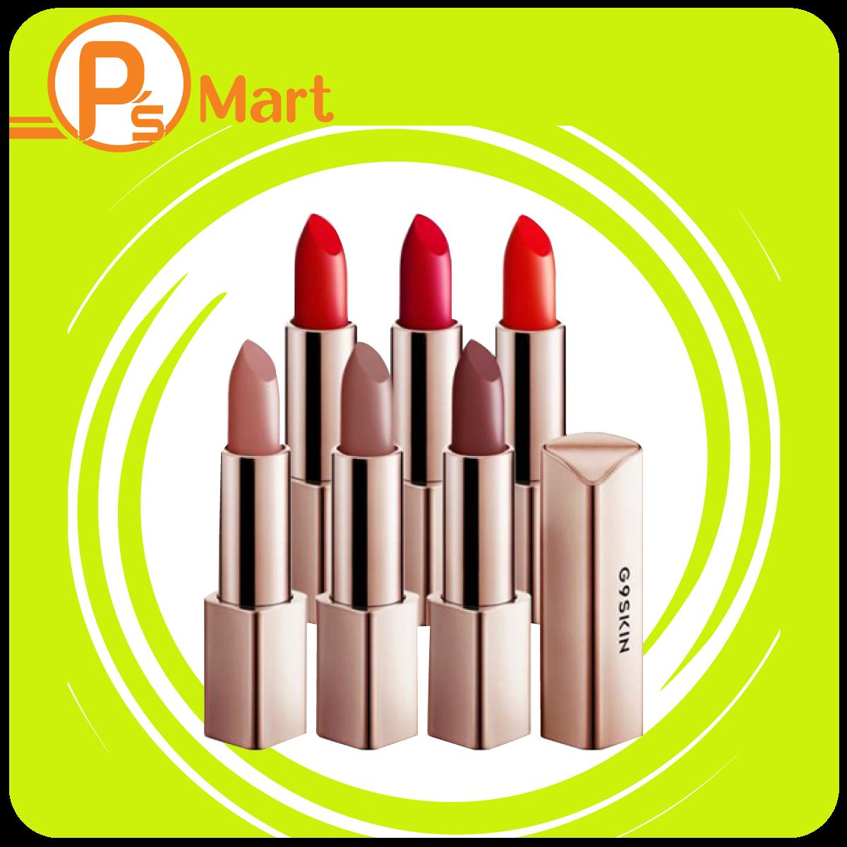 Son Lì Mịn Môi G9-Skin First V-Fit Lip Stick
