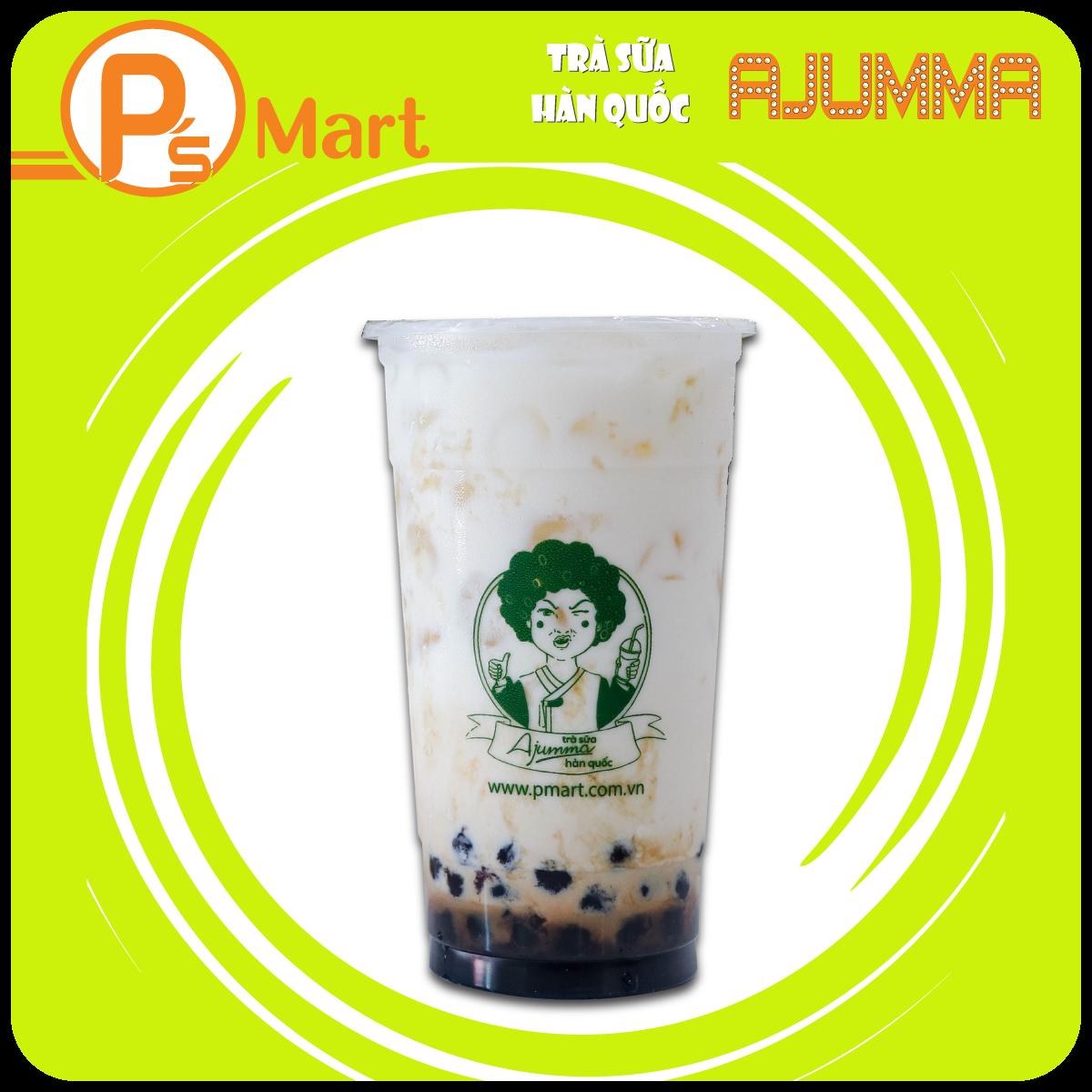 Trà sữa Ajumma – Sữa tươi trân châu đường đen