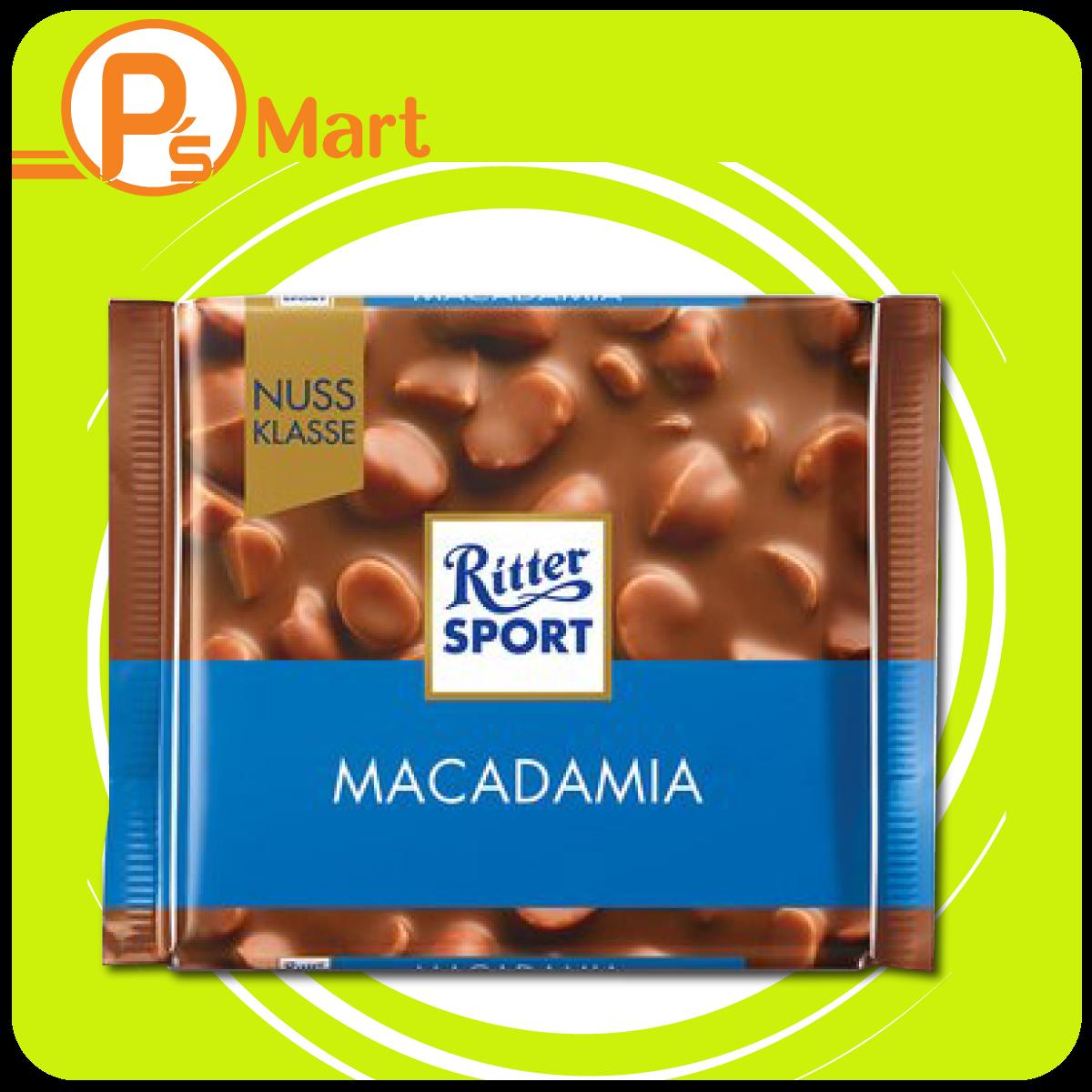 Chocolate Ritter Sport Macadamia