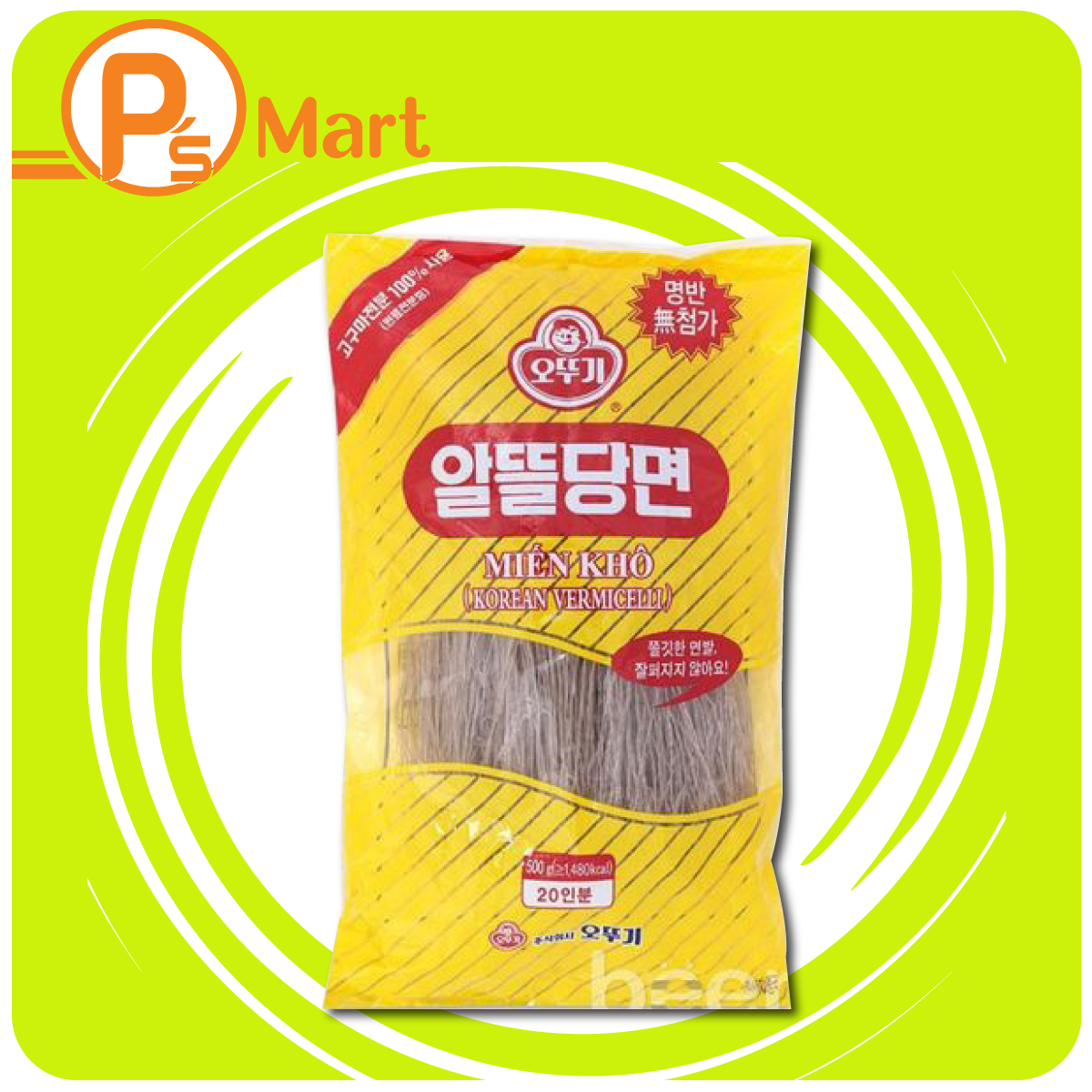 Miến khô Ottogi Hàn Quốc 500g