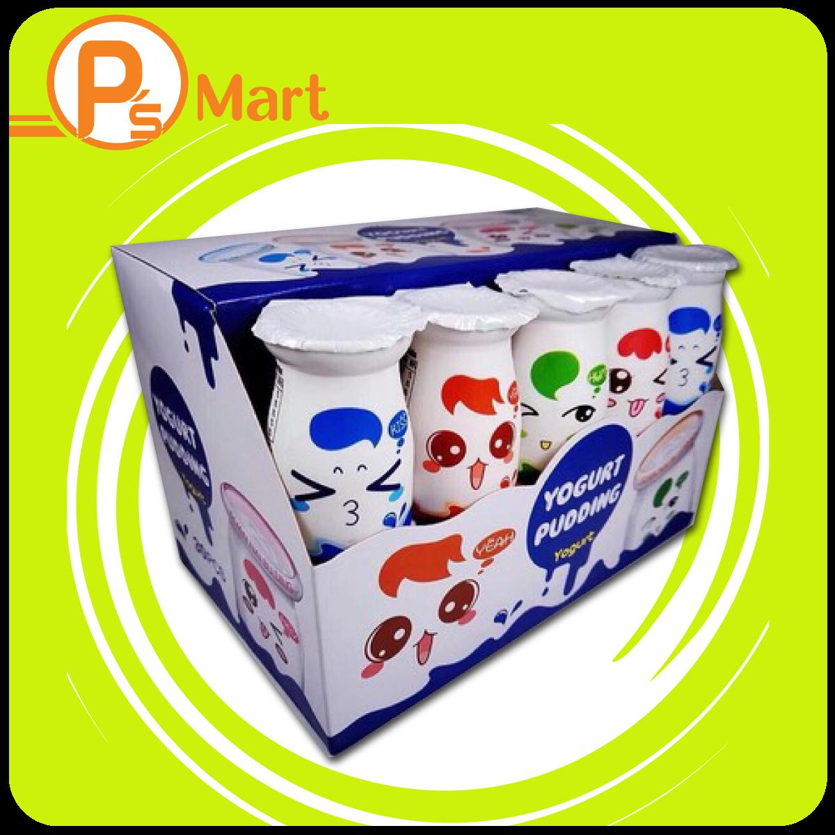 Sữa chua pudding 1 thùng 12 lốc