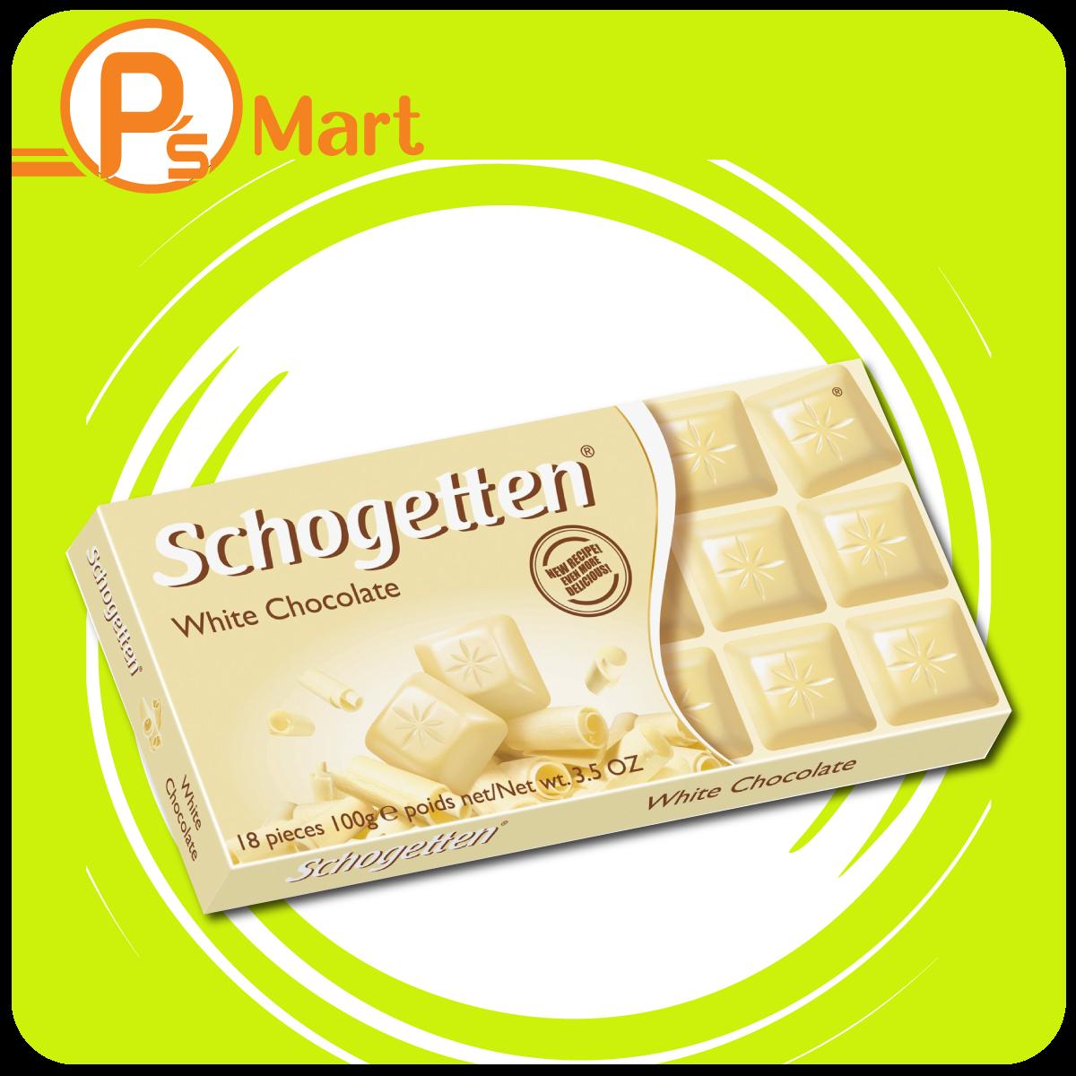 Schogetten German White Chocolate