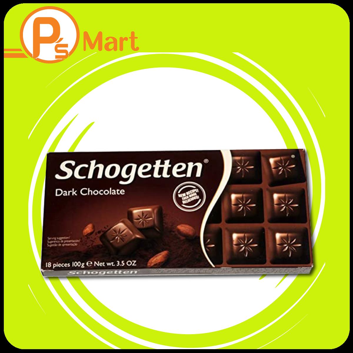 Sôcôla đen Schogetten Dark Chocolate thanh 100g