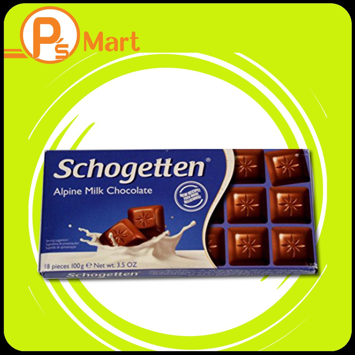 Sôcôla sữa Schogetten Alpine Milk thanh 100g