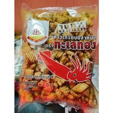 Snack mực Thái Lan 220g vị truyền thống