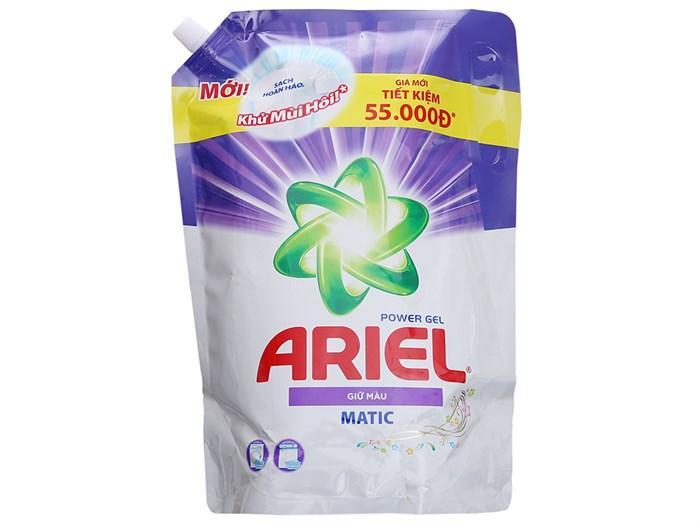 Nước giặt Ariel Matic giữ màu túi 2L