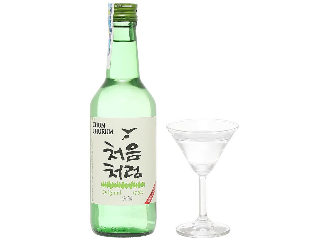 Rượu Soju Chum Churum Original (360ml)