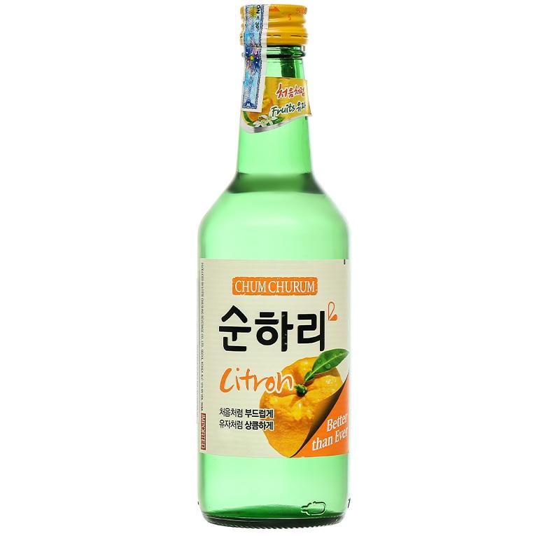 Rượu Soju Chum Churum Citron (360ml)