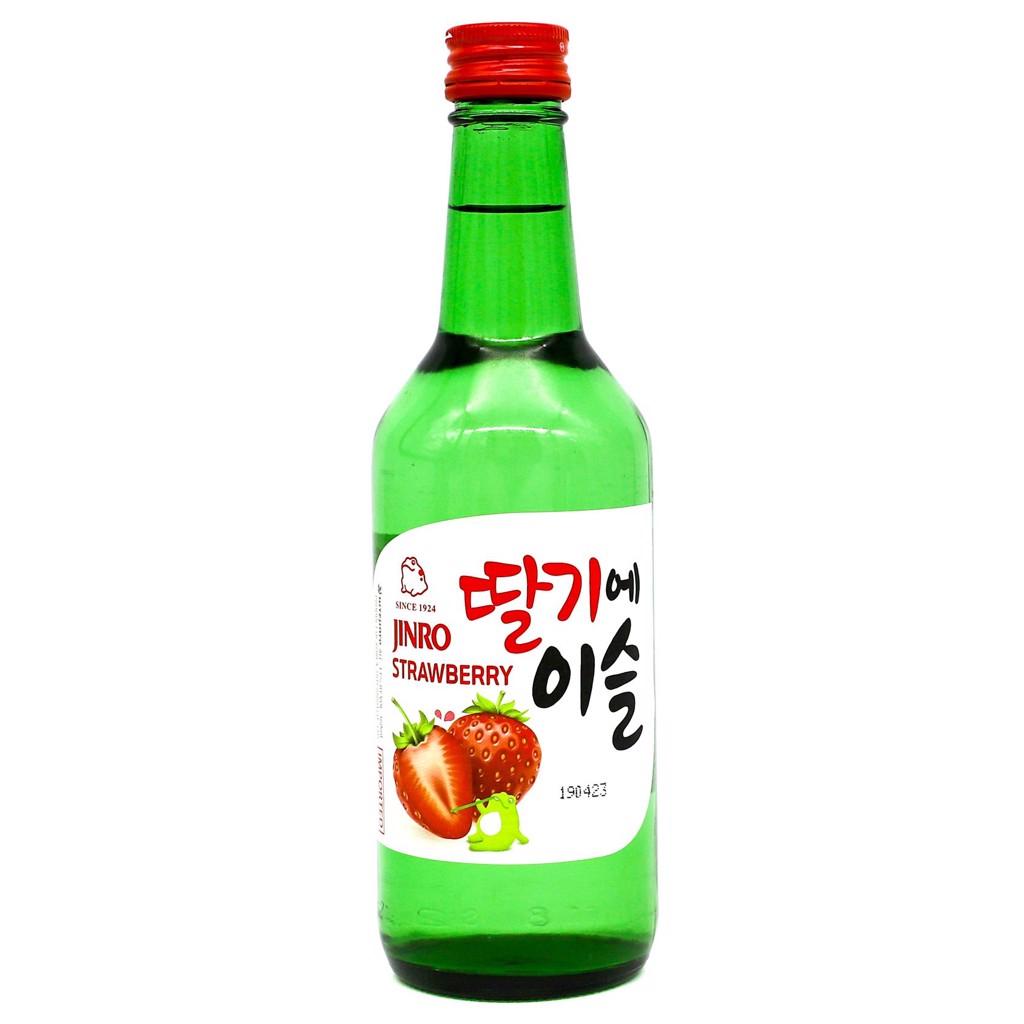 Rượu Soju Chamisu Dâu