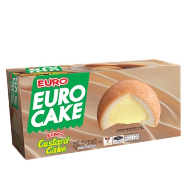 Bánh trứng Thái lan euro Cake