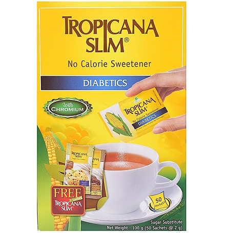 Đường Bắp Ăn Kiêng Tropicana Slim Classic Hộp 50 Gói