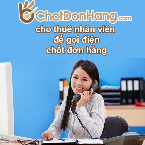 nhan vien chot don hang
