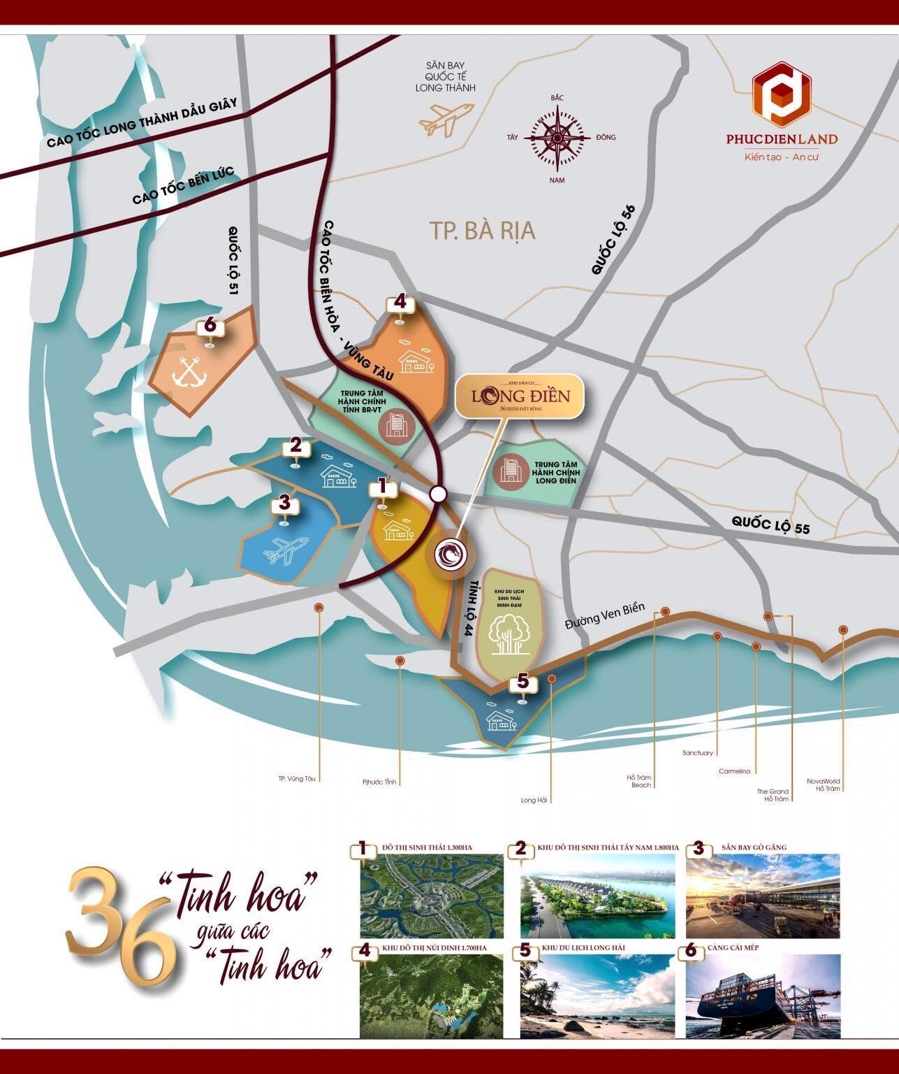 Khu dân cư Long Điền - đất dự án ven tphcm 1