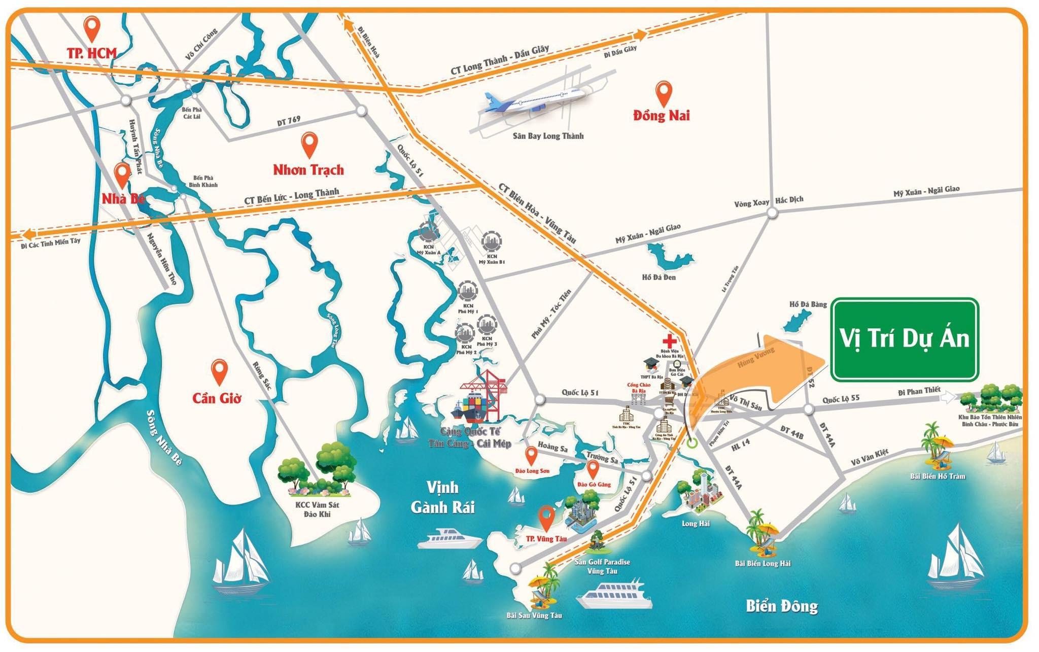 Khu dân cư Long Điền - đất dự án ven tphcm 5